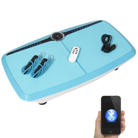 Best Choice Products Dual Motor Full Body 3D Vibration Platform W/ Bluetooth Audio Connection Fitness Exercise