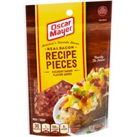 Oscar Mayer Hickory Smoke Bacon Pieces, 2.8 oz Pouch