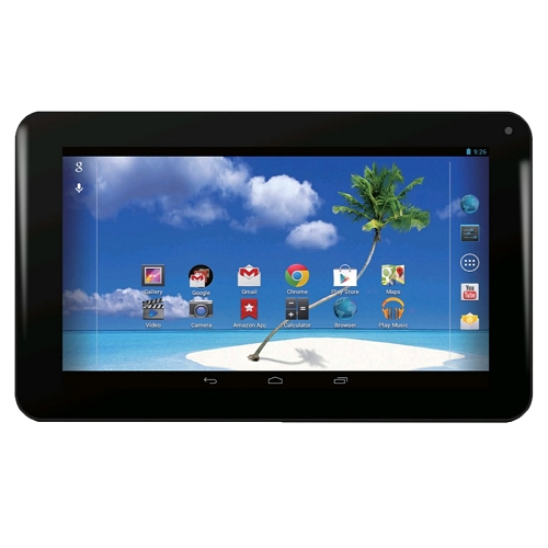"Refurbished Proscan PLT7100G-R 7"" DualCore 1.0GHz 4GB Android 4.4 Wifi Tablet w/Webcam-Black"