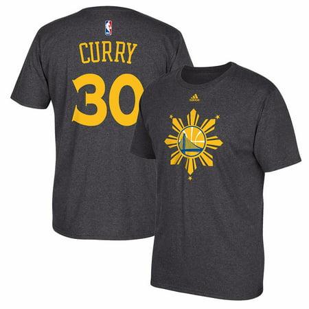 Nowy Jork najlepsze oferty na sprzedaż usa online Stephen Curry Golden State Warriors NBA Adidas Men Grey Filipino Heritage  Name & Number Jersey T-Shirt