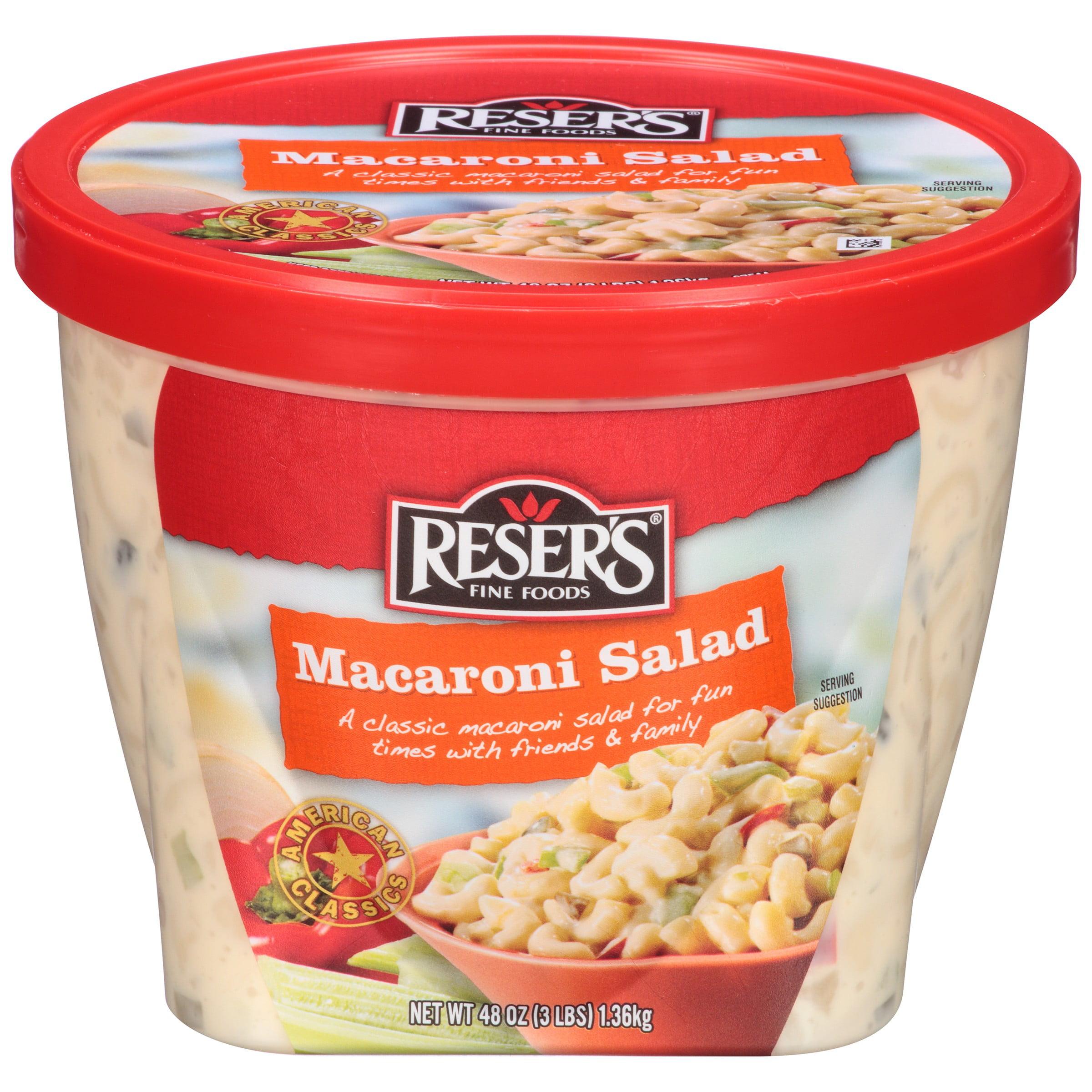 Reser's Fine Foods® Macaroni Salad 48 oz. Tub