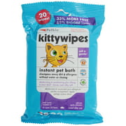 Petkin Kitty Wipes Jumbo Size Wipes 20 ct Pack