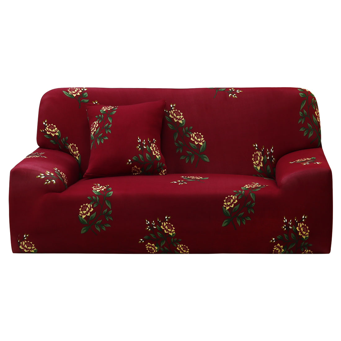 Floral Chair Loveseat Sofa Covers Full Cover Slipcover 7