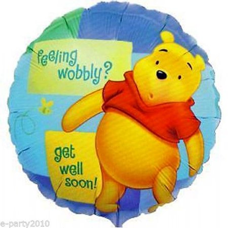 Winnie the Pooh 'Get Well Soon' Foil Mylar Balloon (1ct)](Get Well Soon Ballon)