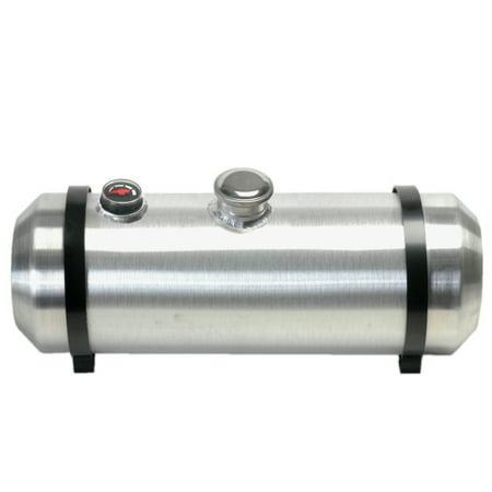 10 Inches X 20 Spun Aluminum Gas Tank 75 Gallons With Sight Gauge