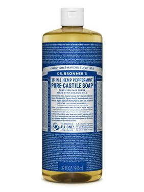 Dr. Bronner's Peppermint Pure-Castile Liquid Soap - 32 oz