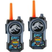 Jurassic World Fallen Kingdom FRS Walkie Talkies for Kids Long Range Static Free Kid Friendly Easy to Use 2 Way Walkie Talkies Packaging