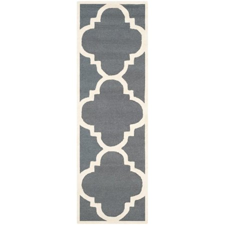 "Safavieh Cambridge 2'6"" X 12' Hand Tufted Wool Rug - image 6 of 10"