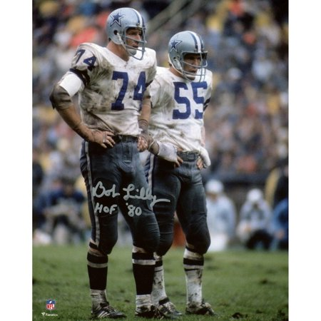 Bob Lilly Dallas Cowboys Autographed 8