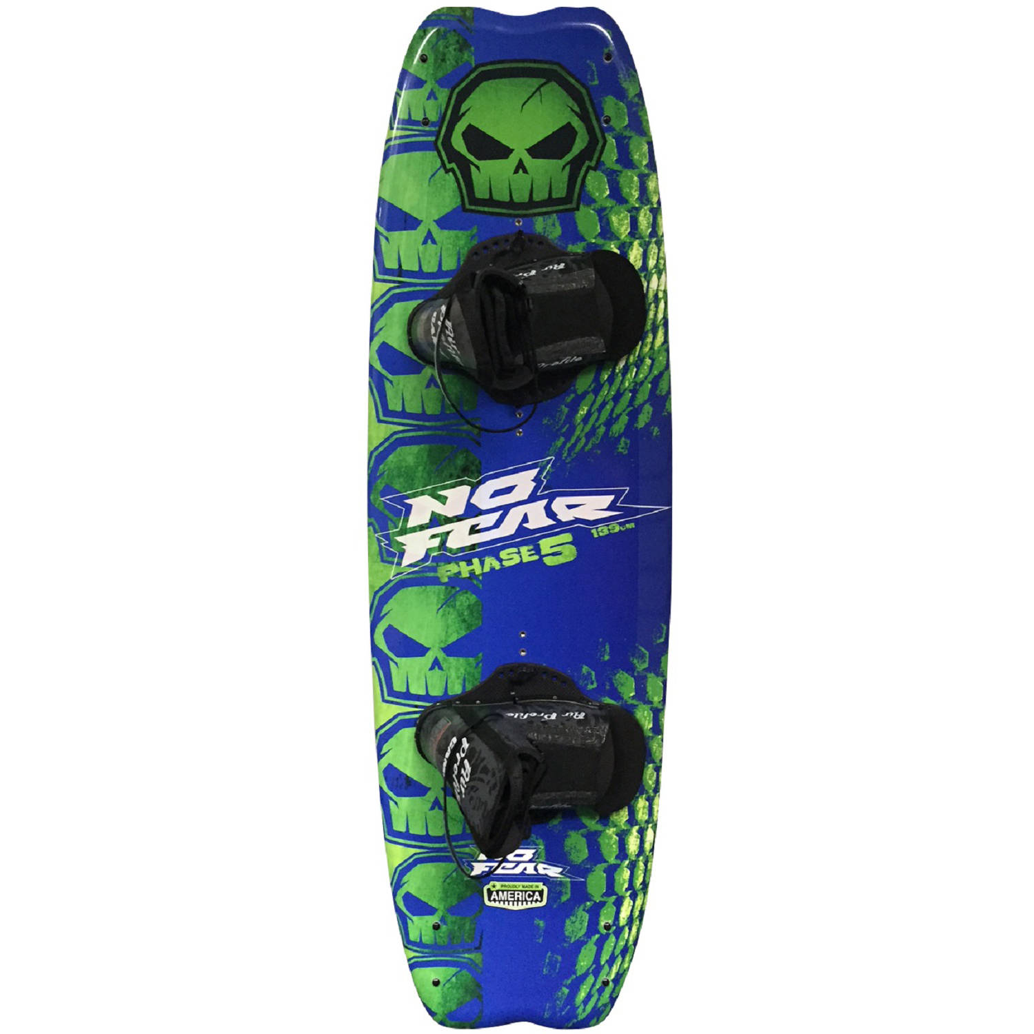 Nash No-Fear Phase 5 Four-Point Wakeboard with Brandon Bindings by Nash