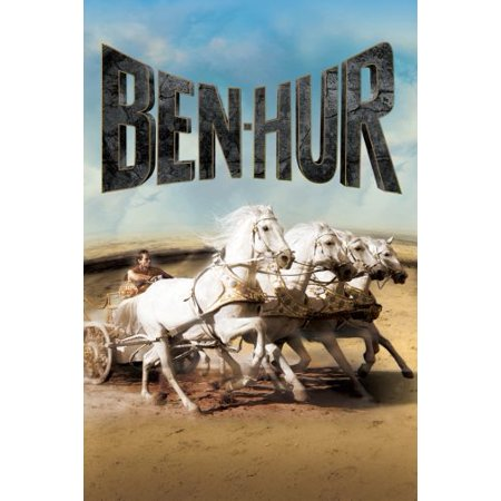 Ben Hur Movie Poster Entertainment Decor 24x36