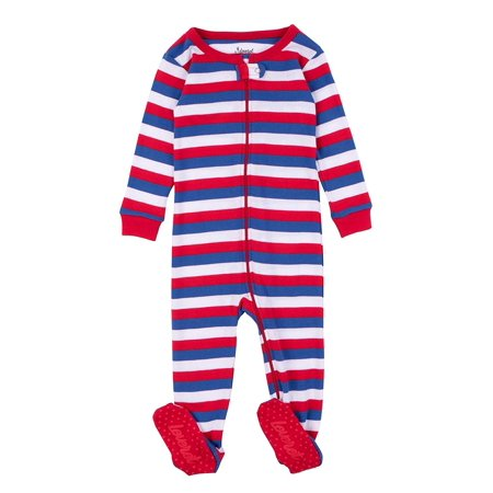 a11cf7920998 Leveret - Leveret Kids Pajamas Baby Boys Girls Footed Pajamas ...