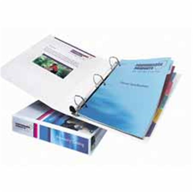 Avery Consumer Products AVE79199 EZD View Binder- Heavyduty- 1inch Cap- White