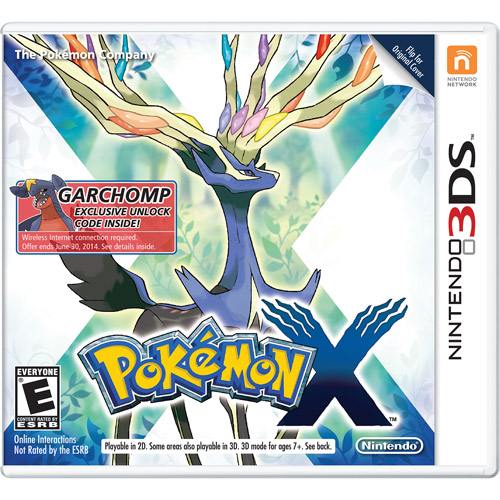 Pokemon X - Wal-Mart Exclusive (Nintendo 3DS)