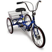 "20"" Trifecta Adult 3-Speed Folding Tricycle"