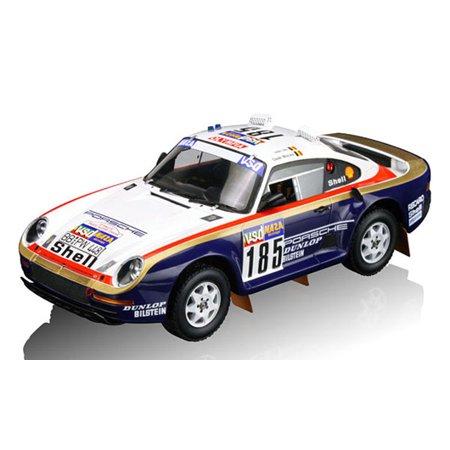 1986 Porsche 95950 185 Ickx Brasseur In 118 Scale By True Scale