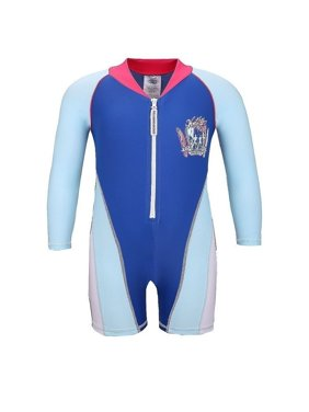 Sun Emporium Baby Boys Blue Vintage Surfer Screen Print Sun Suit 12-18M