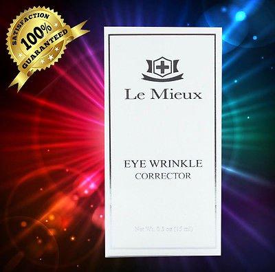 Le Mieux Eye Wrinkle Corrector 0.5oz_15ml New In Box SUPER FRESH!!-02 Advanced Night Repair Synchronized Recovery Complex II 3.4oz