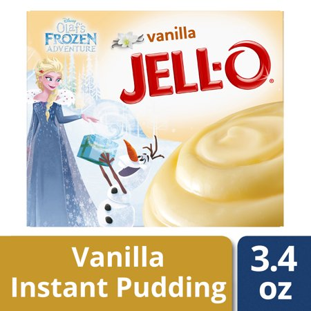 (3 Pack) Jell-O Instant Vanilla Pudding & Pie Filling, 3.4 oz Box