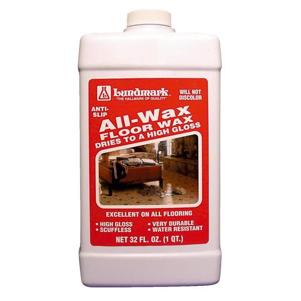 Lundmark Wax 32oz All-Wax Floor Wax 3201F32-6