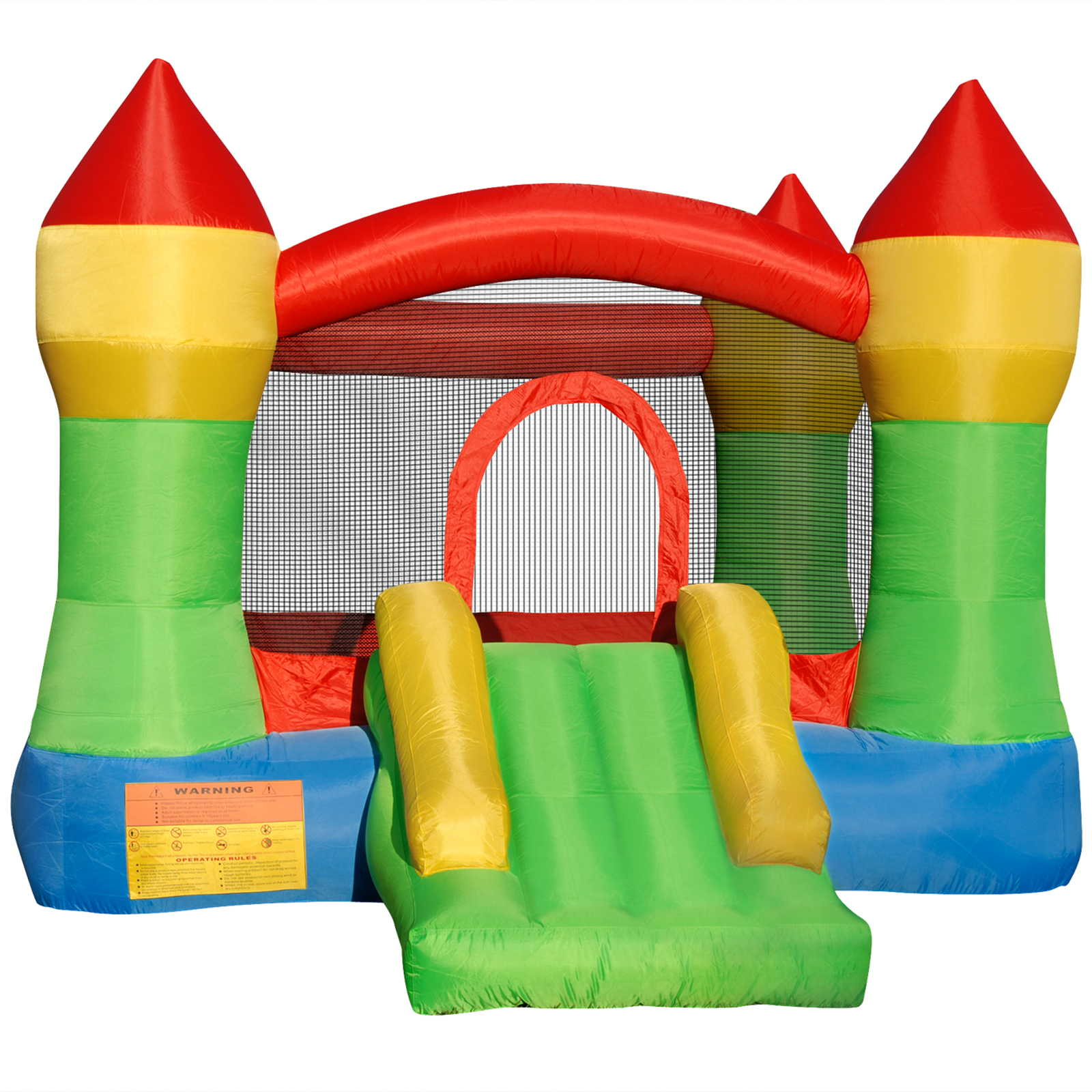 Cloud 9 Mighty Bounce House - Inflatable Castle Theme Bouncing Jump & Slide without Blower