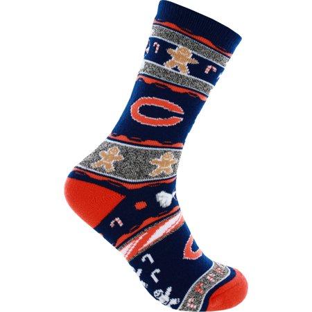 Chicago Bears Ugly Christmas Socks
