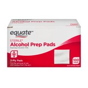 Equate Sterile Alcohol Prep Pads, 100 Ct