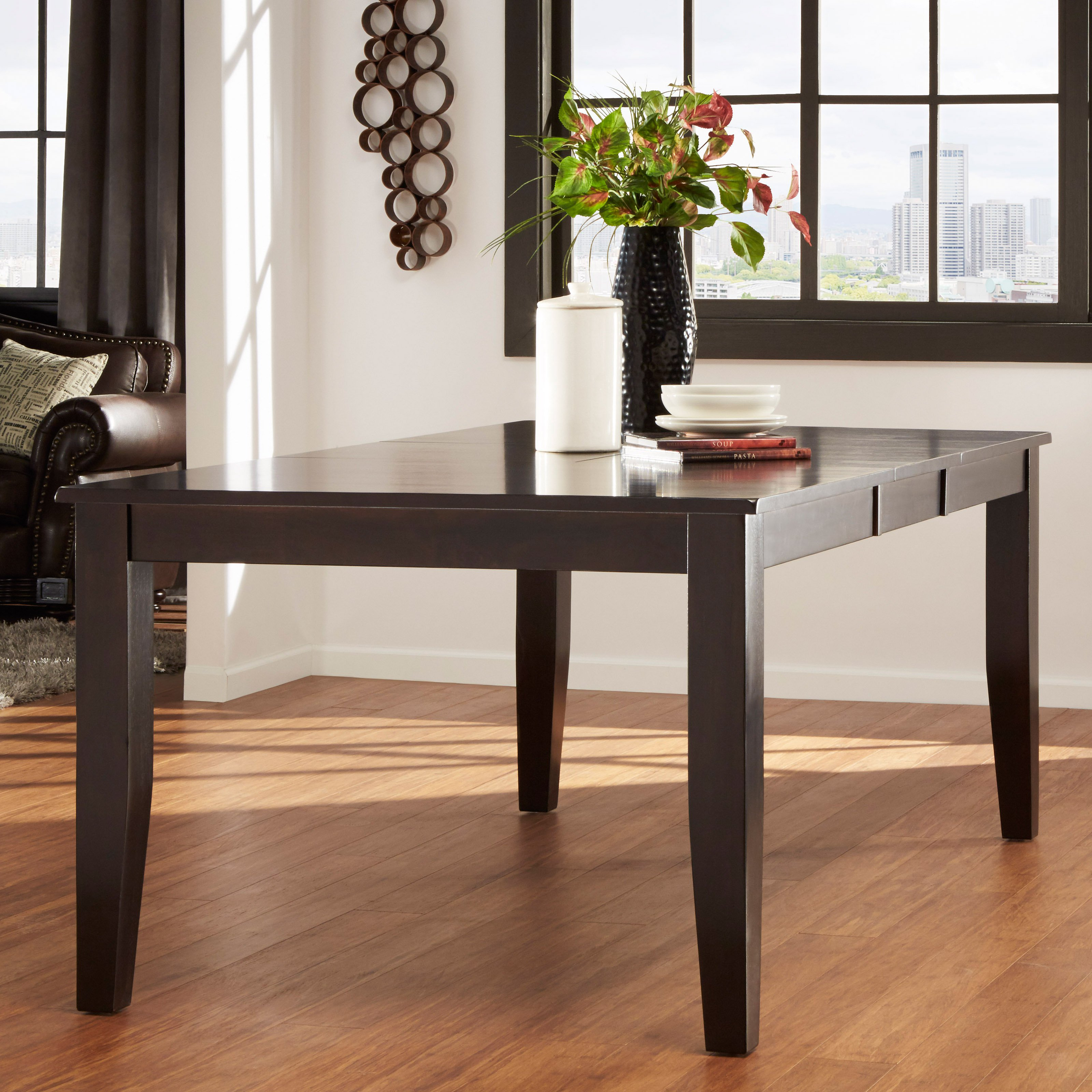 Homelegance Crown Point Dining Table - Merlot
