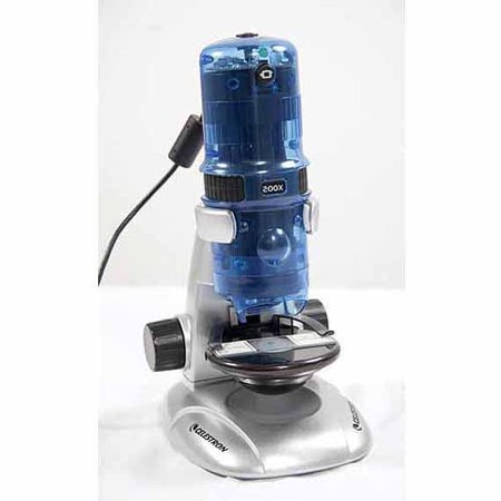 Celestron Amoeba Digital Microscope, Blue