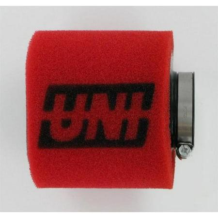 Uni UP-4125ST 2-Stage Straight Pod Filter - 32mm I.D. x 76mm (76 Mm Flywheels)