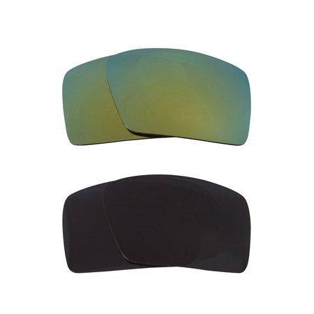 8e4a5ccaa3 Best SEEK Replacement Lenses for Oakley Sunglasses EYEPATCH 2 Grey Green  Mirror - Walmart.com