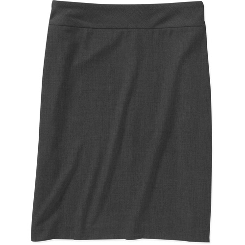 George Womens Plus-Size Think Slim Tummy Slimming Pencil Skirt with Power Mesh Liner