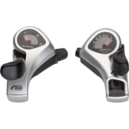 Shimano Tourney TX50 3x7-Speed Thumb Shifter Set