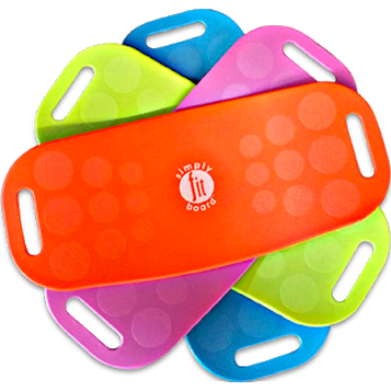 Simply Fit Twist Balance Board, for Fitness and Exercise, As Seen on