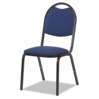 Virco 8917 Series Fabric Upholstered Stack Chair