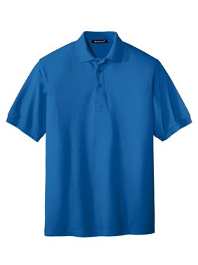 Mafoose Men's Extended Size Silk Touch Polo Shirt Strong Blue X-Small