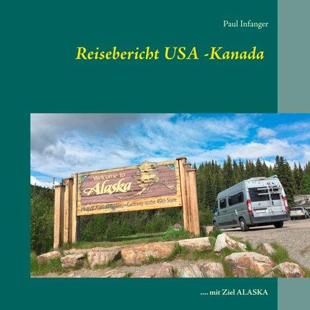 Reisebericht USA -Kanada - eBook (Kanada Druckt)