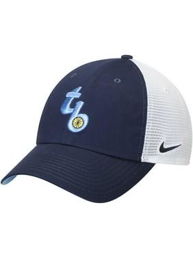 79782c9ab47 Product Image Tampa Bay Rays Nike Heritage 86 Fabric Mix Performance  Adjustable Hat - Navy White -