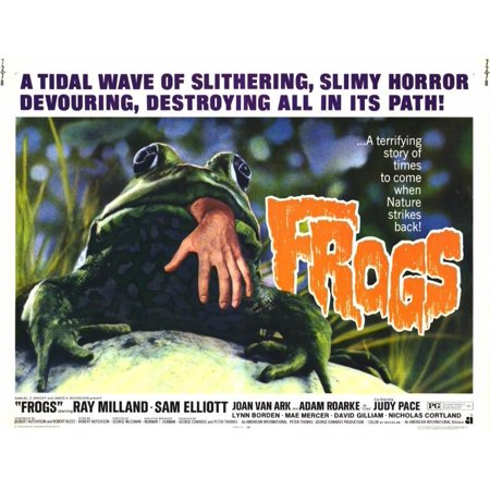 Frogs  1972  11X14 Movie Poster