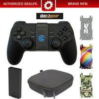 Deco Gear DJI Tello Drone Remote Control w/ Case 3 Pack Skin Decal Kit & Spare Battery Bundle