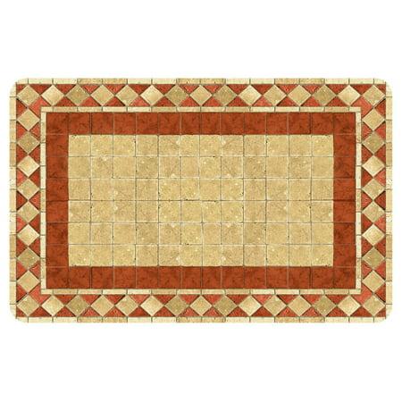 - Bungalow Flooring Red Tile Mosaic Door Mat
