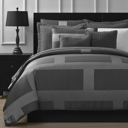 Staniey Collection Frame Jacquard 5-piece Comforter