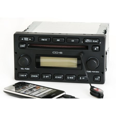 Ford Escape Mariner 2005-07 Radio AM FM 6 Disc CD w Aux mp3 Input 5L8T-18C815-EC - (2013 Ford Escape Radio Buttons Not Working)