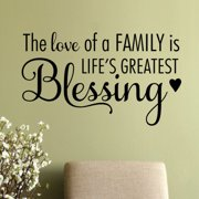 Belvedere Designs LLC The Love of A Family Wall Quotes  Decal