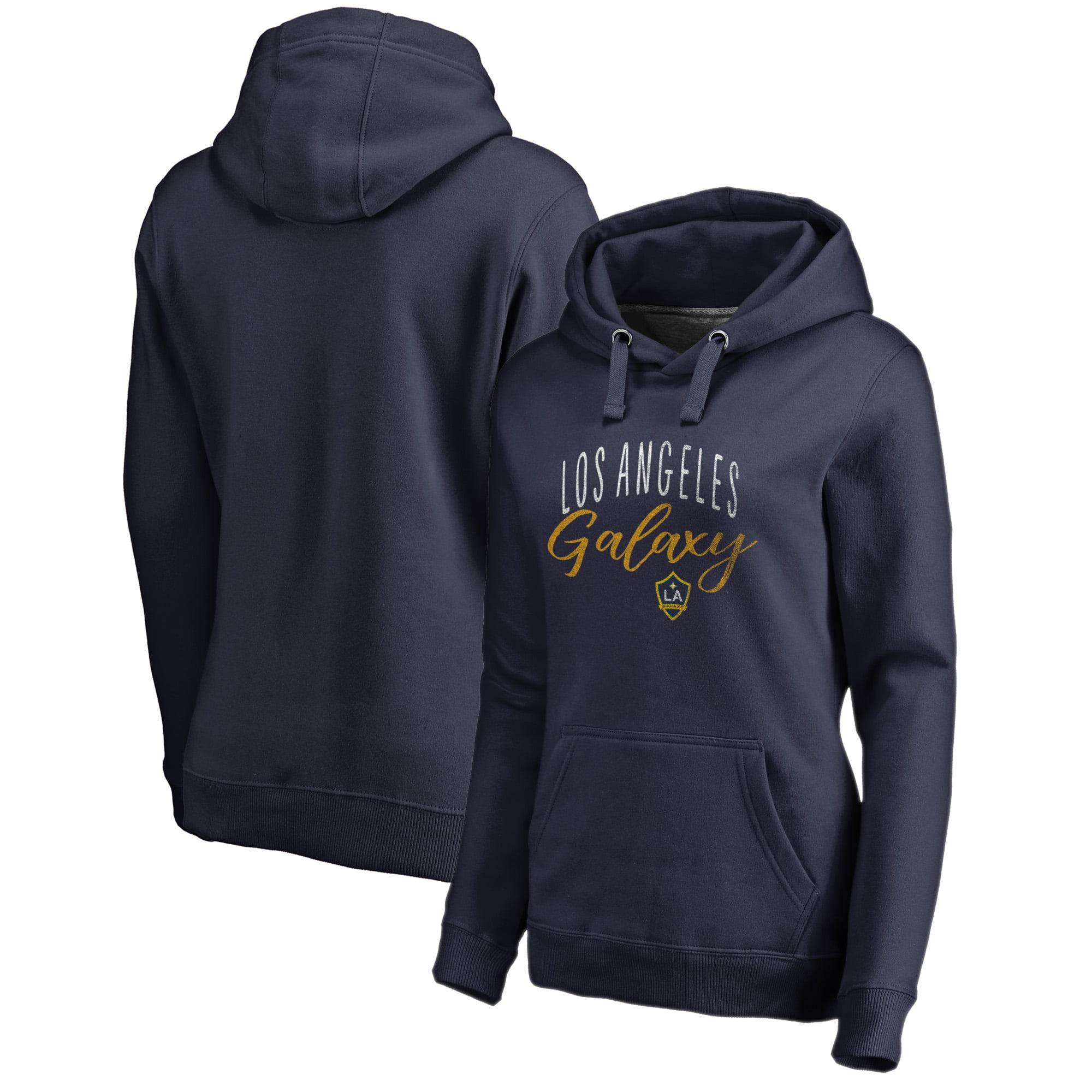 LA Galaxy Fanatics Branded Women's Graceful Pullover Hoodie - Navy