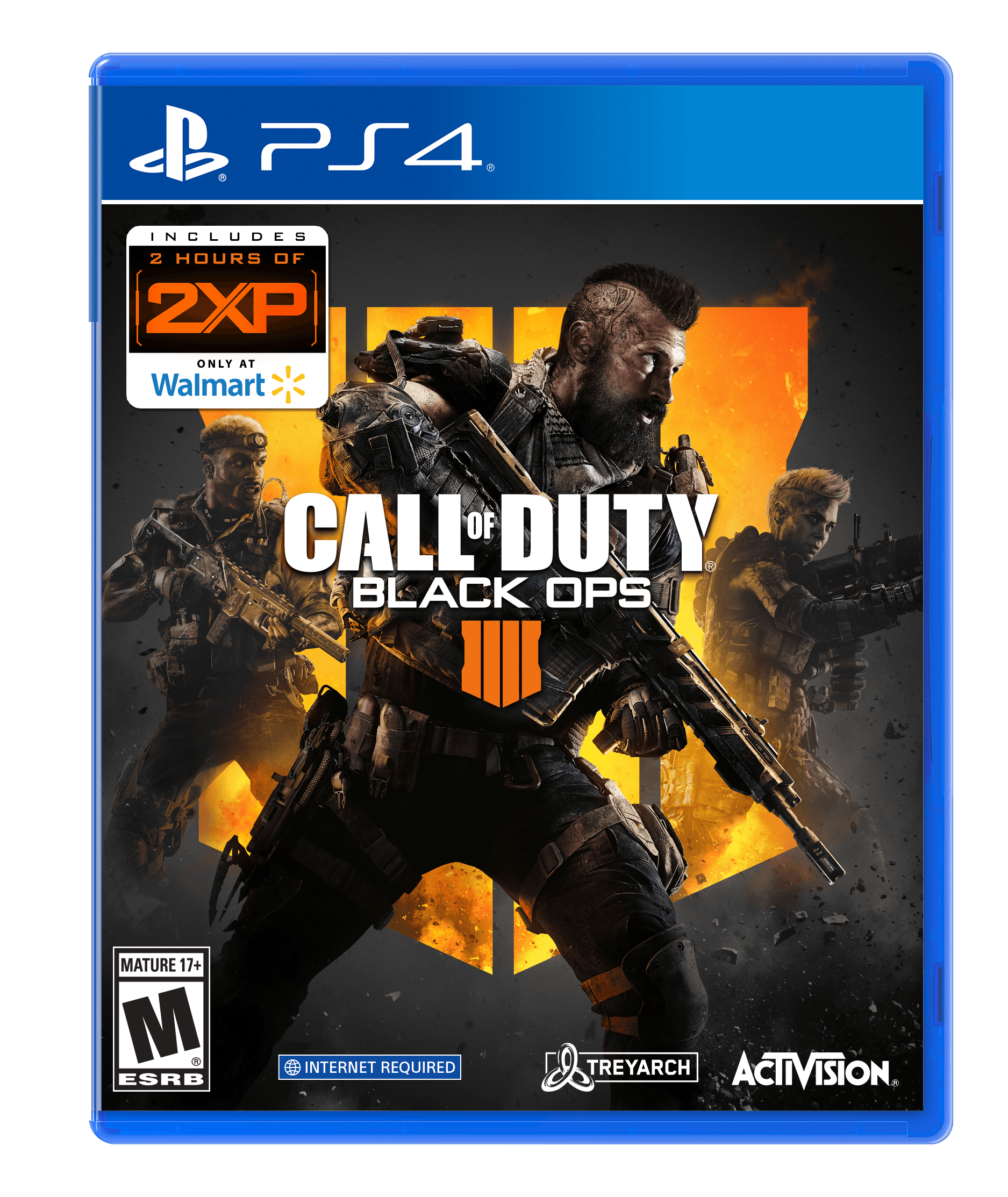 Call Of Duty Black Ops 4 Playstation 4 Only At Wal Mart Walmart Com Walmart Com