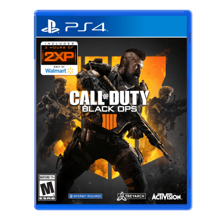 - Call of Duty: Black Ops 4, Playstation 4, Only at Wal-Mart