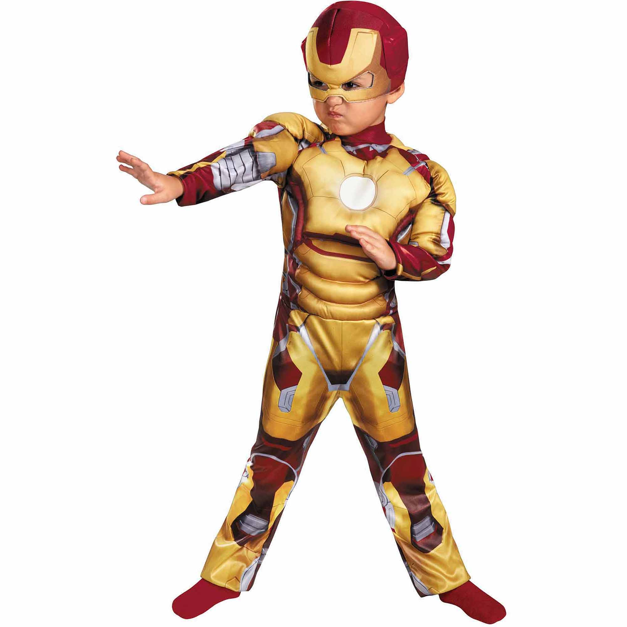 Iron Man Mark 42 Child Halloween Costume, S (4-6)