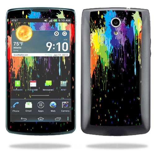 Mightyskins Protective Vinyl Skin Decal Cover for Pantech Discover AT&T Cell Phone wrap sticker skins Splatter