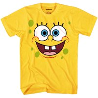 SpongeBob Squarepants Face Adult T-Shirt